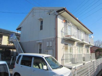 長野県長野市、北長野駅徒歩19分の築27年 2階建の賃貸アパート
