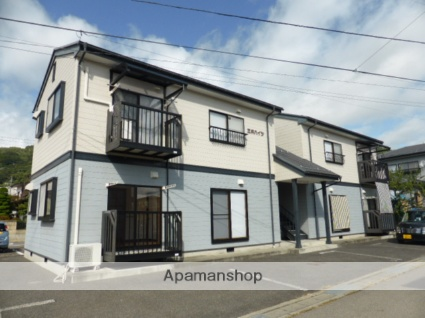 長野県長野市、安茂里駅徒歩4分の築19年 2階建の賃貸アパート
