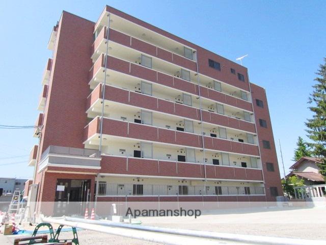 長野県長野市、市役所前駅徒歩13分の築4年 5階建の賃貸マンション