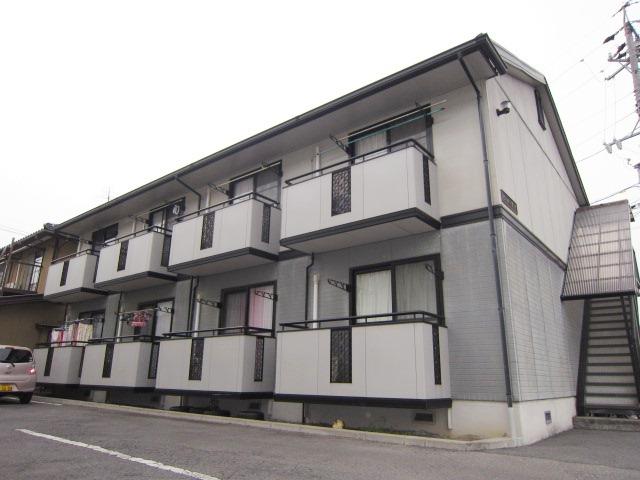 長野県長野市、附属中学前駅徒歩18分の築20年 2階建の賃貸アパート