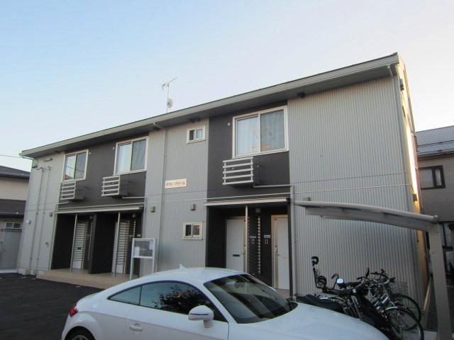 長野県長野市、市役所前駅徒歩36分の築2年 2階建の賃貸アパート