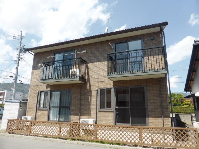 長野県長野市、善光寺下駅徒歩17分の築22年 2階建の賃貸アパート