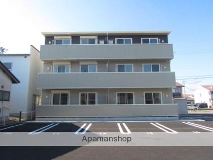 長野県長野市、北長野駅徒歩33分の築2年 3階建の賃貸アパート