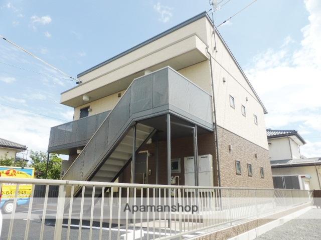 長野県長野市、市役所前駅徒歩28分の築2年 2階建の賃貸アパート