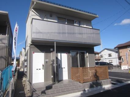 長野県長野市、川中島駅徒歩26分の新築 2階建の賃貸アパート