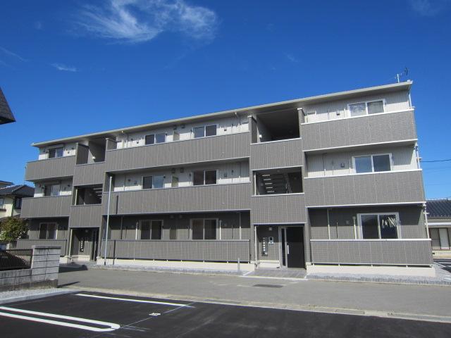 長野県長野市、北長野駅徒歩28分の築1年 3階建の賃貸アパート