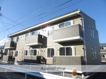 長野県長野市、安茂里駅徒歩9分の築1年 2階建の賃貸アパート