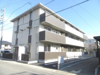 長野県長野市、北長野駅徒歩29分の新築 3階建の賃貸アパート
