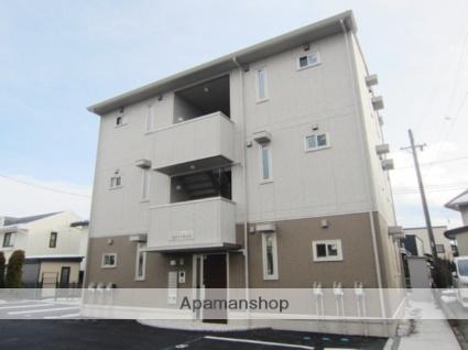 長野県長野市、川中島駅徒歩52分の築1年 3階建の賃貸アパート
