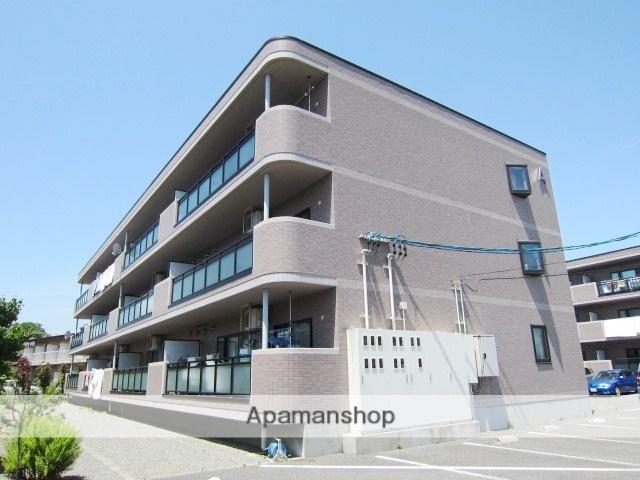 長野県長野市、市役所前駅徒歩21分の築18年 3階建の賃貸マンション
