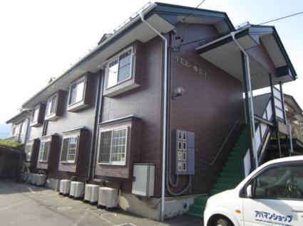 長野県長野市、善光寺下駅徒歩13分の築32年 2階建の賃貸アパート