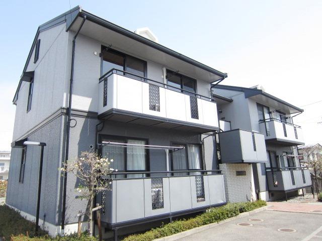 長野県長野市、本郷駅徒歩8分の築23年 2階建の賃貸アパート