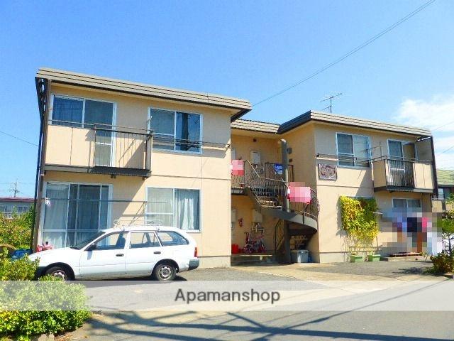 長野県長野市、篠ノ井駅徒歩19分の築32年 2階建の賃貸アパート