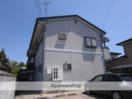 長野県長野市、安茂里駅徒歩10分の築22年 2階建の賃貸アパート
