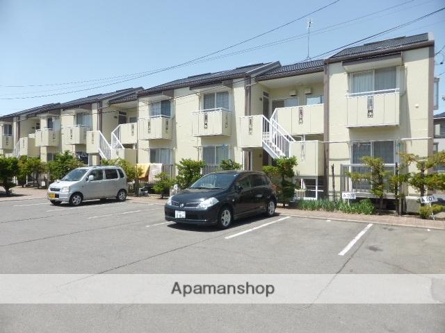 長野県長野市、市役所前駅徒歩18分の築30年 2階建の賃貸アパート