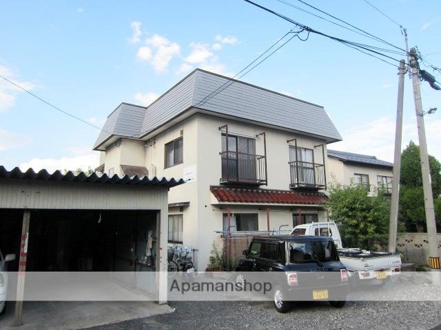長野県長野市、市役所前駅徒歩13分の築35年 2階建の賃貸アパート