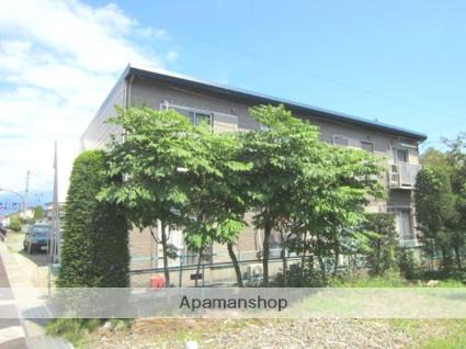 長野県長野市、北長野駅徒歩35分の築29年 2階建の賃貸アパート