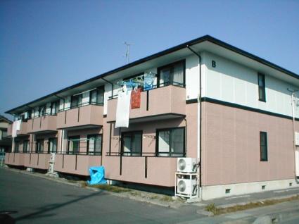 長野県長野市の築22年 2階建の賃貸アパート
