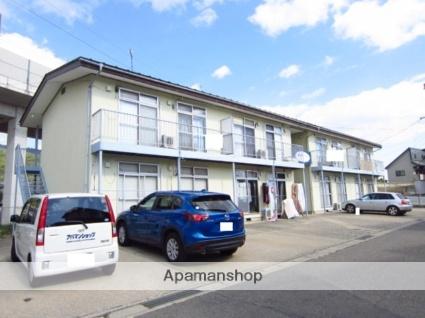 長野県長野市、安茂里駅徒歩6分の築41年 2階建の賃貸アパート