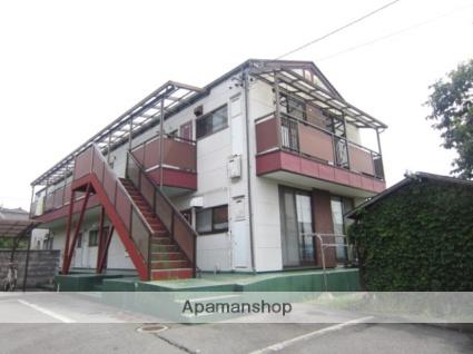長野県長野市、権堂駅徒歩17分の築27年 2階建の賃貸アパート