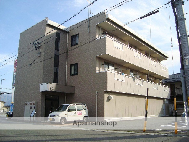 長野県長野市、市役所前駅徒歩18分の築14年 3階建の賃貸マンション