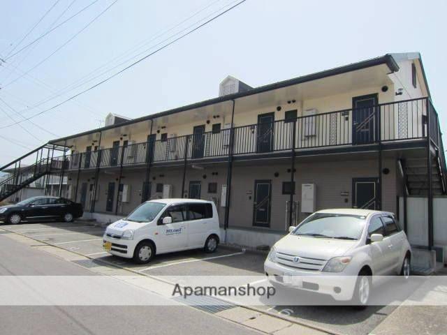 長野県長野市、篠ノ井駅徒歩24分の築22年 2階建の賃貸アパート