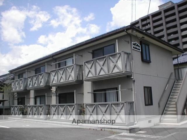 長野県長野市、市役所前駅徒歩10分の築22年 2階建の賃貸アパート
