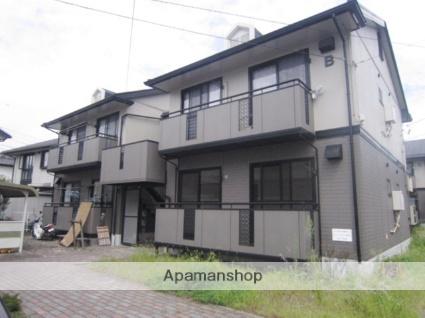 長野県長野市、安茂里駅徒歩7分の築22年 2階建の賃貸アパート