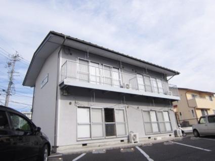 長野県長野市、安茂里駅徒歩20分の築28年 2階建の賃貸アパート