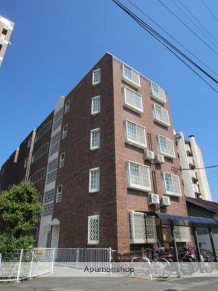 長野県長野市、市役所前駅徒歩10分の築17年 5階建の賃貸マンション