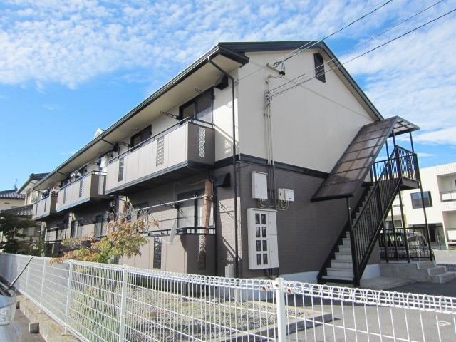 長野県長野市、北長野駅徒歩18分の築22年 2階建の賃貸アパート