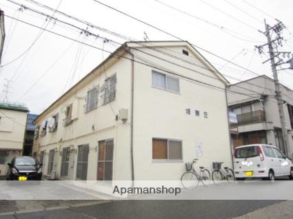 長野県長野市、善光寺下駅徒歩5分の築33年 2階建の賃貸アパート