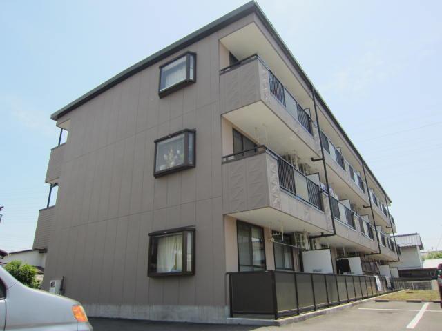 長野県長野市、川中島駅徒歩28分の築20年 3階建の賃貸マンション