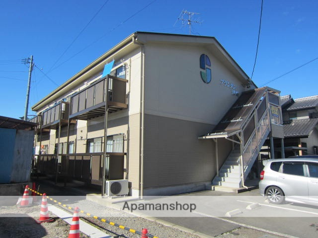 長野県長野市、今井駅徒歩29分の築19年 2階建の賃貸アパート