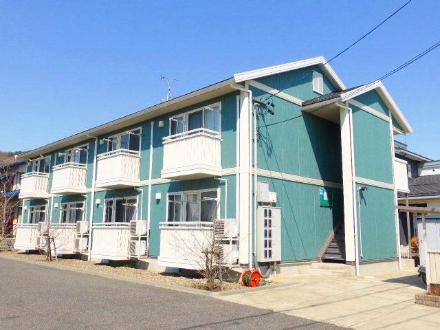 長野県長野市、篠ノ井駅徒歩19分の築14年 2階建の賃貸アパート
