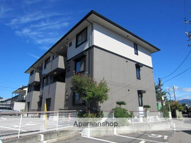 長野県長野市、篠ノ井駅徒歩13分の築22年 3階建の賃貸アパート