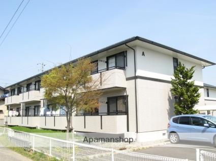 長野県長野市、権堂駅徒歩23分の築21年 2階建の賃貸アパート