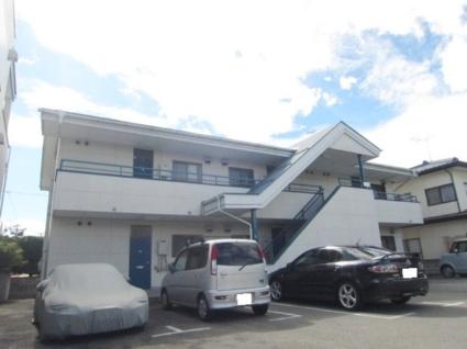 長野県長野市、市役所前駅徒歩25分の築27年 2階建の賃貸アパート