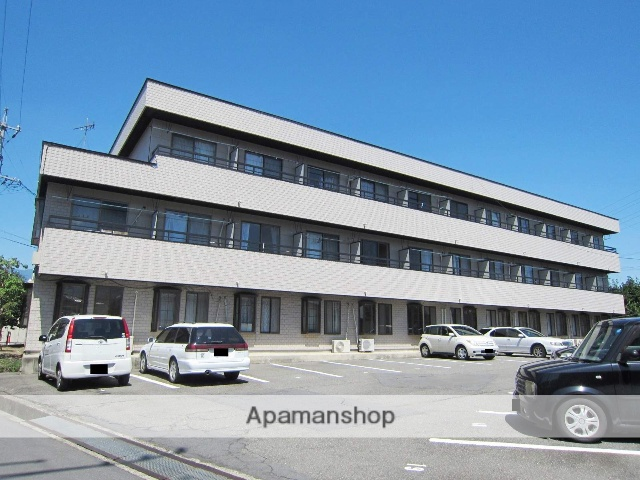 長野県長野市、朝陽駅徒歩23分の築31年 3階建の賃貸マンション