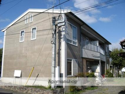 長野県長野市、市役所前駅徒歩22分の築25年 2階建の賃貸アパート