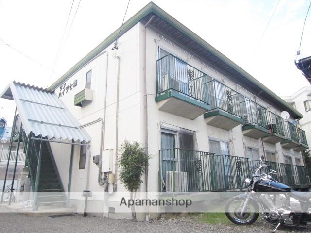 長野県長野市、市役所前駅徒歩13分の築32年 2階建の賃貸アパート
