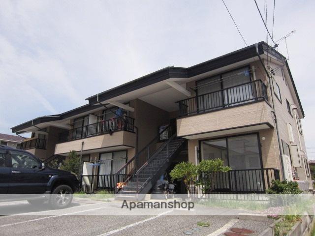 長野県長野市、川中島駅徒歩50分の築19年 2階建の賃貸アパート