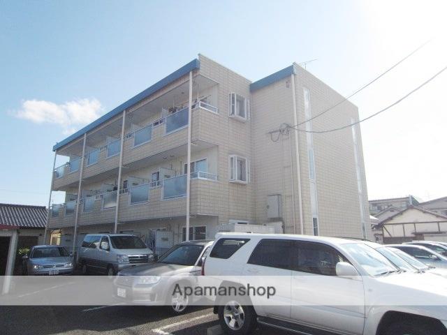 長野県長野市、市役所前駅徒歩13分の築20年 3階建の賃貸マンション