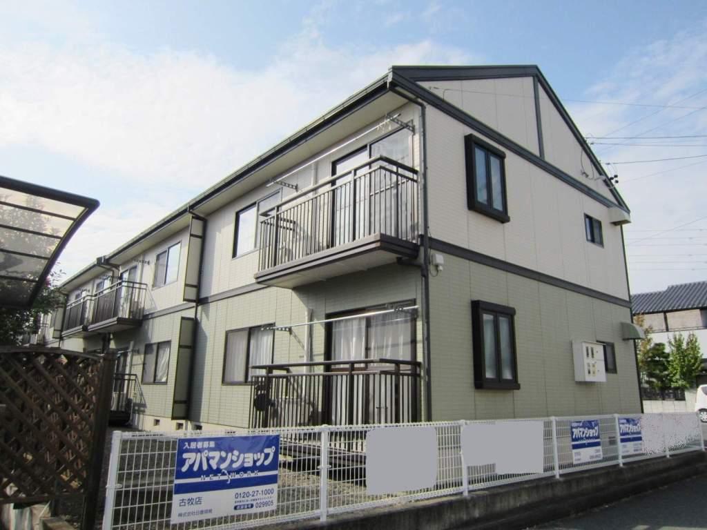 長野県長野市、北長野駅徒歩9分の築22年 2階建の賃貸アパート