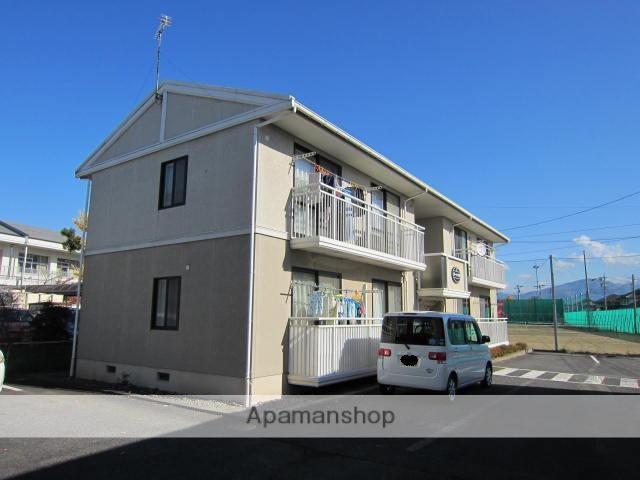 長野県長野市、篠ノ井駅徒歩10分の築22年 2階建の賃貸アパート