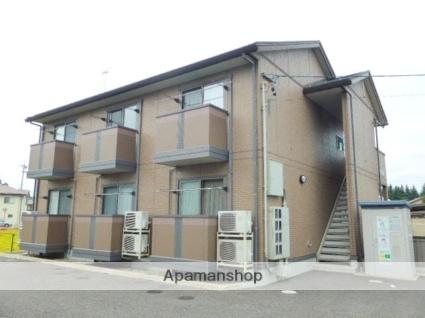 長野県長野市、今井駅徒歩18分の築10年 2階建の賃貸アパート