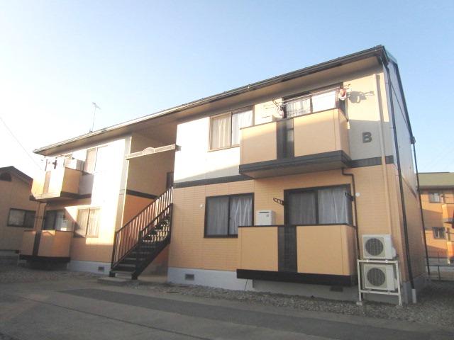 長野県長野市、長野駅徒歩45分の築20年 2階建の賃貸アパート
