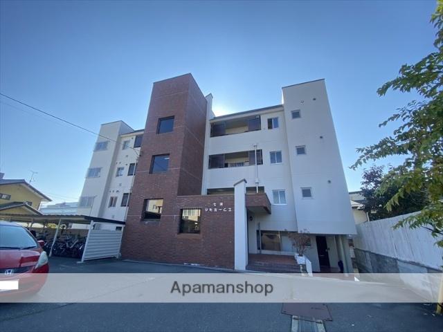長野県長野市、市役所前駅徒歩10分の築35年 4階建の賃貸マンション