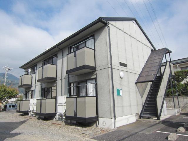 長野県長野市、安茂里駅徒歩21分の築17年 2階建の賃貸アパート