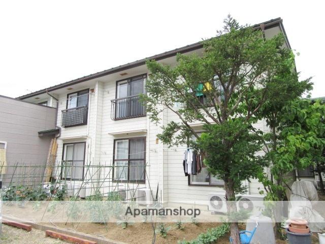 長野県長野市、市役所前駅徒歩20分の築29年 2階建の賃貸アパート